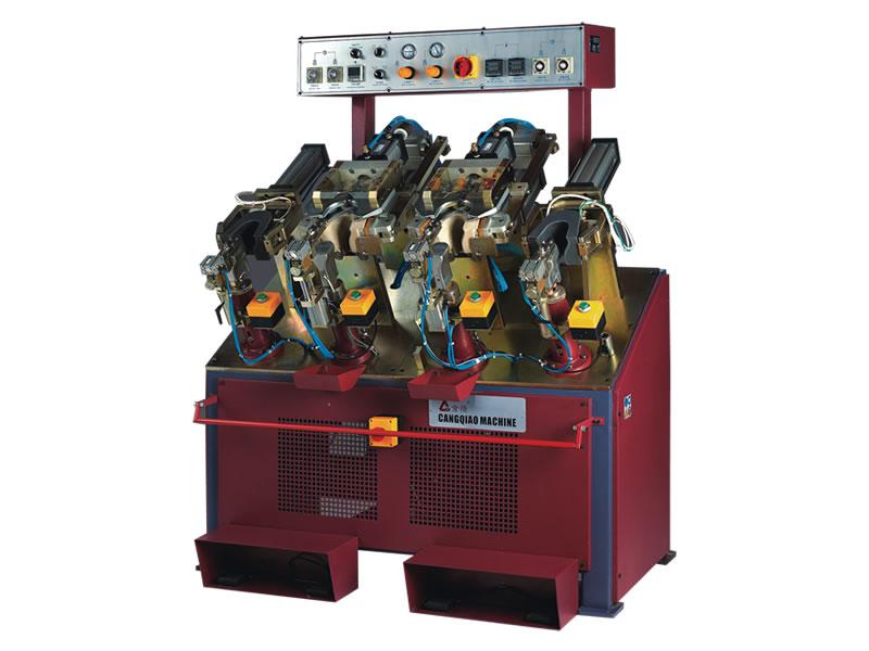 ASF10812 上刀式冷热后踵定型机
